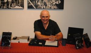 Martyn Jones at November book signing