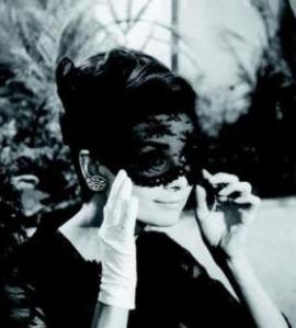 Audrey Hepburn Veiled hat